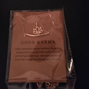 Jewelry - Karma necklace nwt